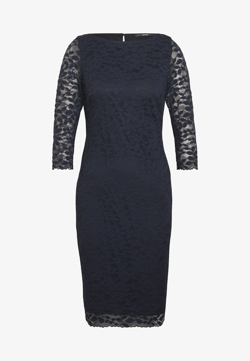 leave stretch - cocktailkleid/festliches kleid - navy