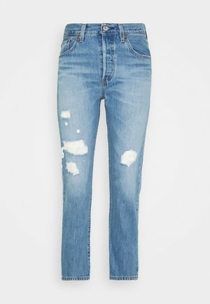 501® CROP - Jean boyfriend - sansome light