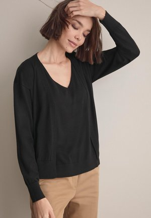 ULTRALIGHT - Cardigan - nero