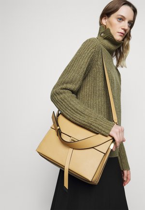 LOUISE - Handbag - warm beige/noir