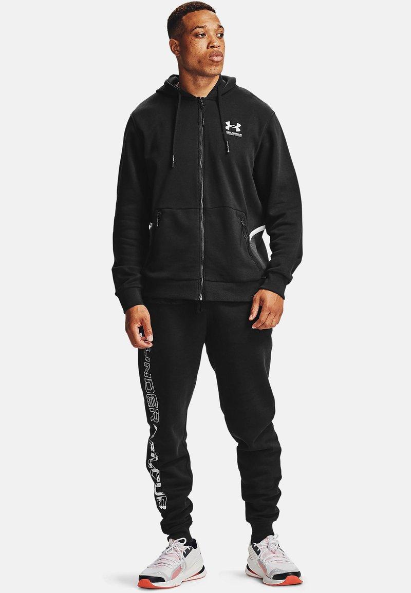 Under Armour - Zip-up hoodie - Black
