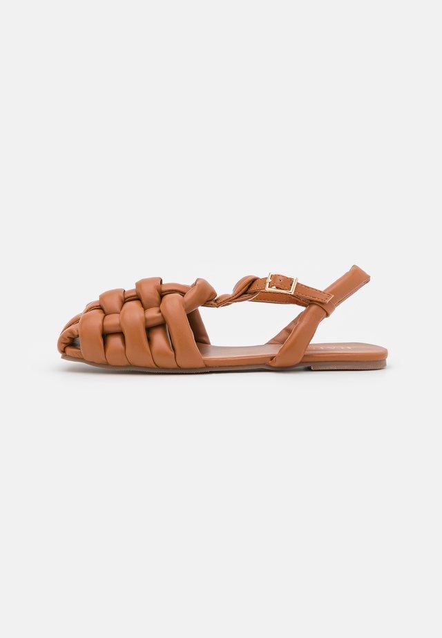 ELECTAA - Sandals - brown