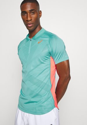 TENNIS - Sports shirt - techno cyan