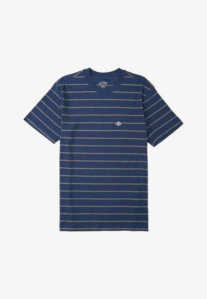 DIE CUT STP - Print T-shirt - denim blue