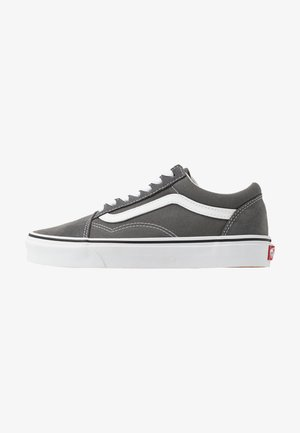 OLD SKOOL UNISEX - Baskets basses - pewter/true white