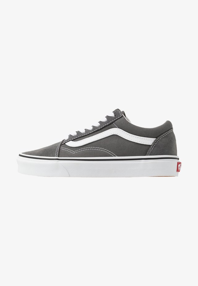 OLD SKOOL UNISEX - Trainers - pewter/true white