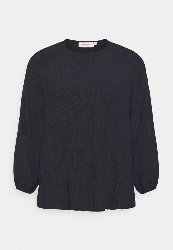 ONLY Carmakoma CARNIBA BLOUSE - Bluzka - black/czarny ZVVN