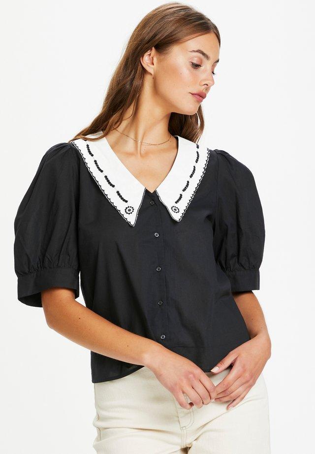 SLFLOR  - Skjorta - black