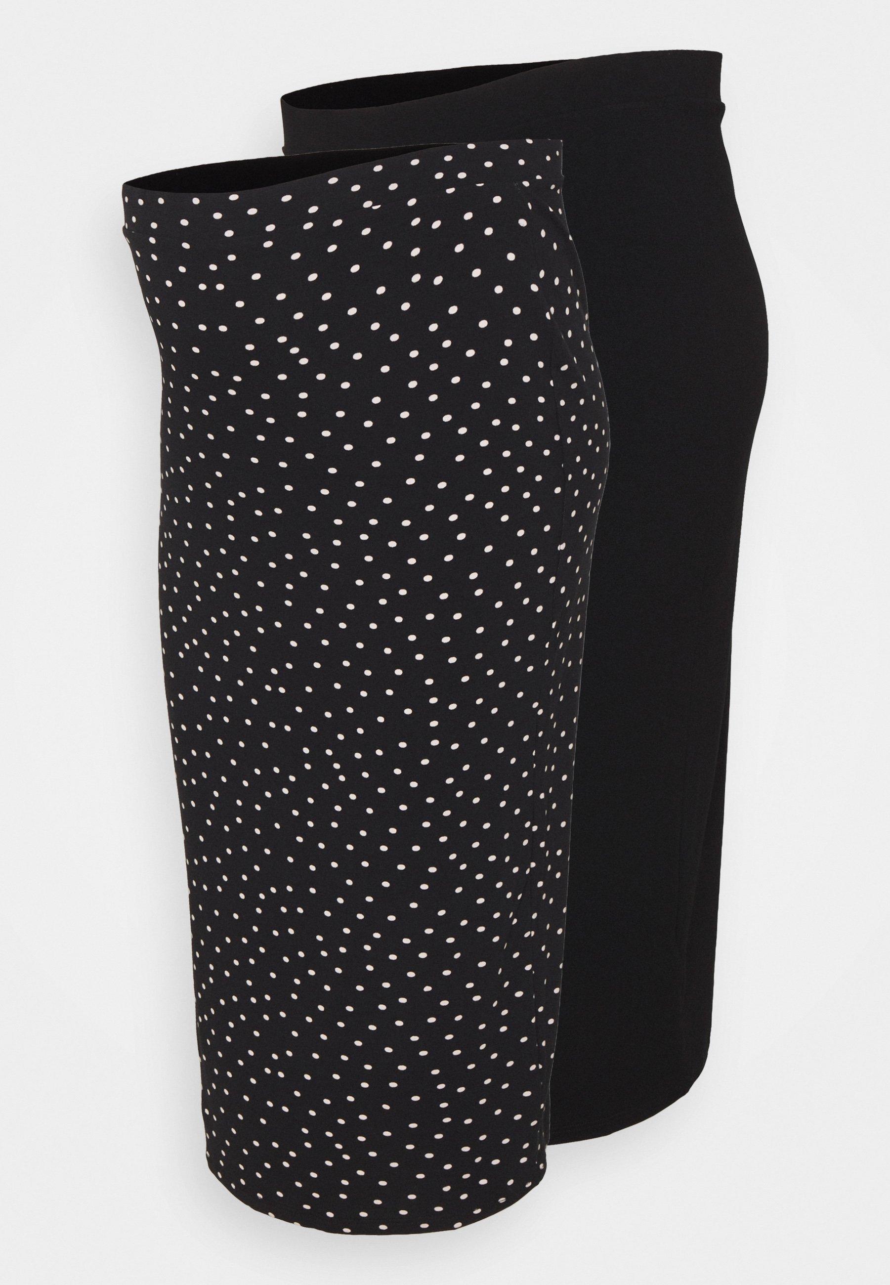 Women MATERNITY MIDI 2 PACK - Pencil skirt
