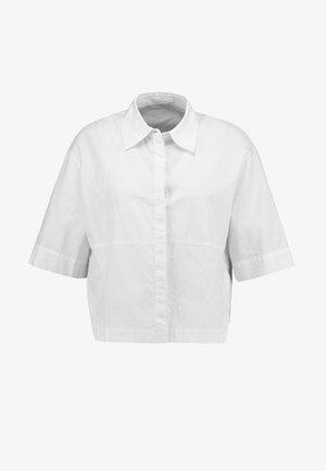 FRIEDI AJOUR - Button-down blouse - white