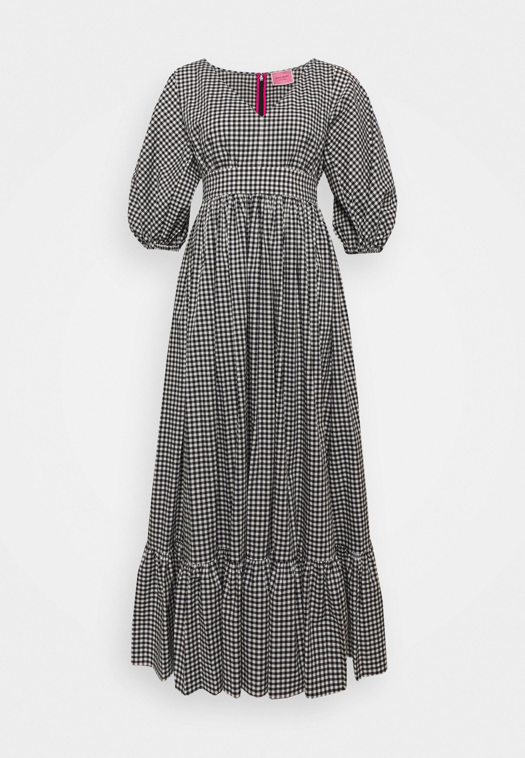 Women MINI GINGHAM BODEGA DRSS - Maxi dress