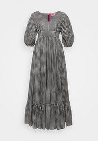 kate spade new york - MINI GINGHAM BODEGA DRSS - Maxi dress - black - 0