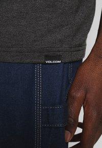 Volcom - GROWN HTH SS - Camiseta estampada - anthracite - 6
