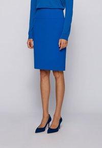 BOSS - VACRIBA - Pencil skirt - light blue - 0