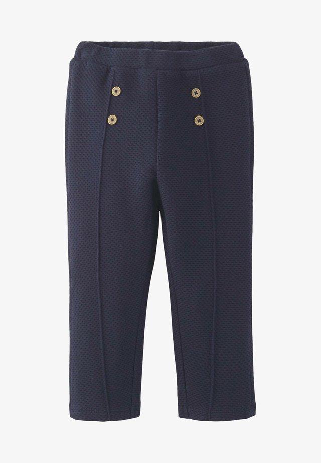 MIT ZIERKNÖPFEN - Pantaloni - navy blazer blue