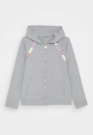JUNIOR ACTIVE ZIP - Zip-up hoodie - light heather grey