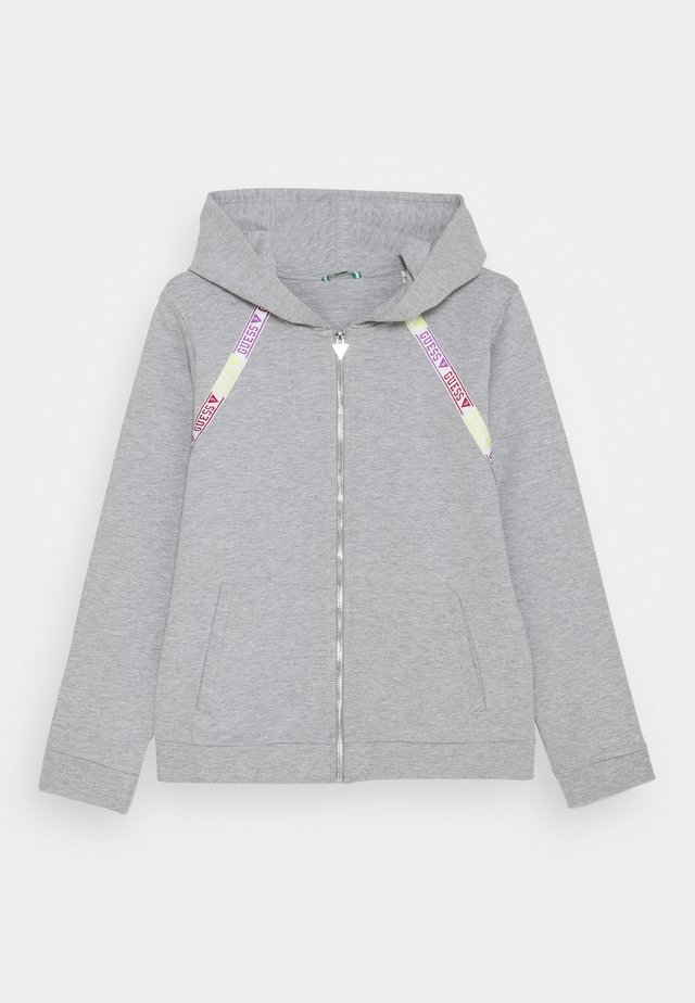 JUNIOR ACTIVE ZIP - Bluza rozpinana - light heather grey