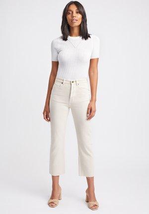Straight leg jeans - ab-beige/beige