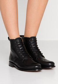 Grenson - ELLA - Lace-up ankle boots - black - 0