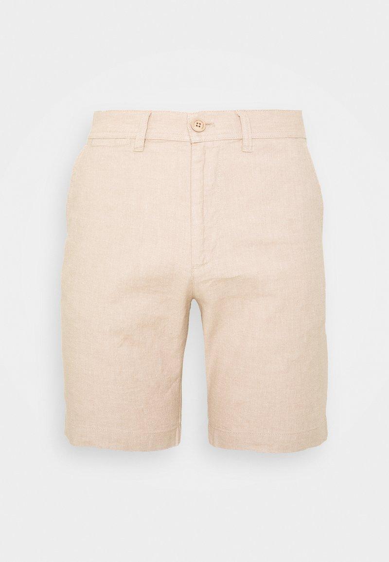 KnowledgeCotton Apparel - CHUCK REGULAR - Shorts - beige