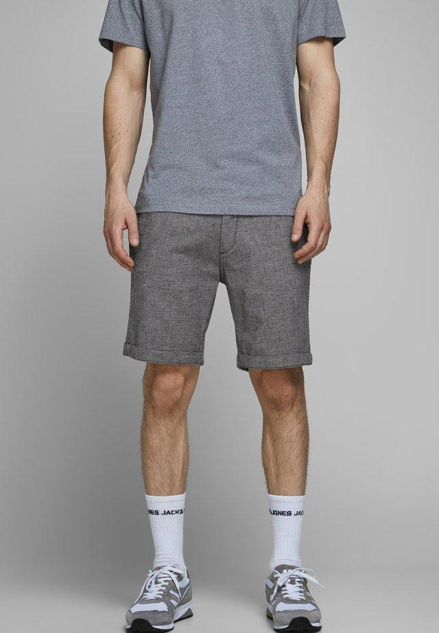 JJILINEN JJCHINO - Shorts - black