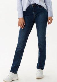 BRAX - STYLE MARY - Slim fit jeans - used dark blue - 0