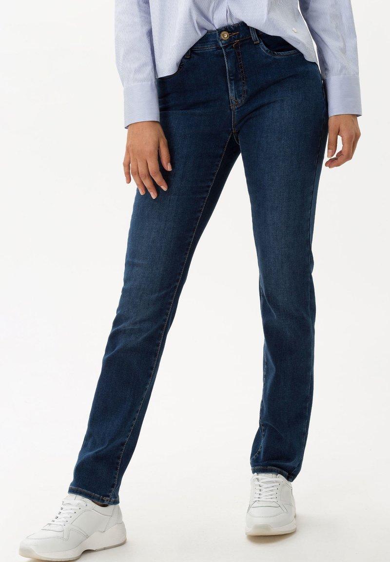 BRAX - STYLE MARY - Slim fit jeans - used dark blue