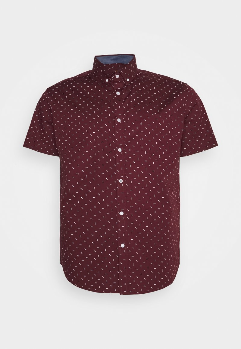 Johnny Bigg - BENSON STRETCH SHIRT - Shirt - burgundy