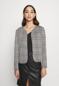 ONLY - ONLZIGA SHORT - Blazer - black/cloud dancer - 0