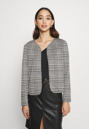 ONLZIGA SHORT - Blazer - black/cloud dancer