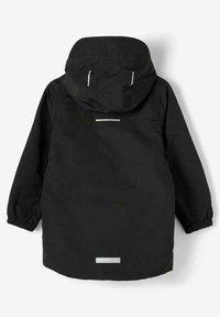Name it - Waterproof jacket - black - 1