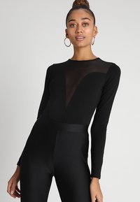 Even&Odd - Long sleeved top - black - 0