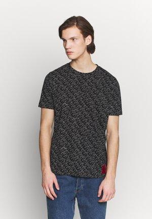 DANTASTIC - T-shirts med print - black