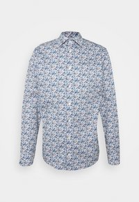 SLIM STAINED GLASS FLORAL - Shirt - blue signature