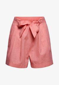 Esprit - MIX:MIT GUMMIBUND - Shorts - coral - 8