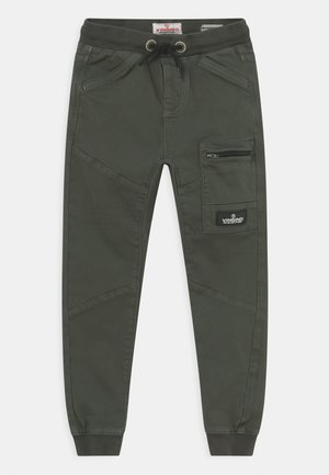 CHARLES - Cargo trousers - imperial green