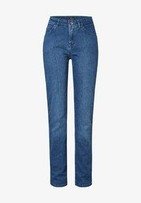 TONI - Slim fit jeans - midblue used - 2