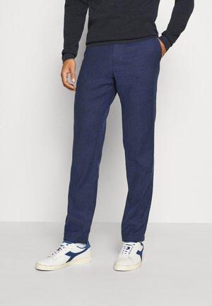 FLEX PANT - Spodnie materiałowe - blue
