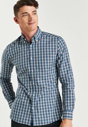 CHECK REGULAR FIT - Skjorta - blue