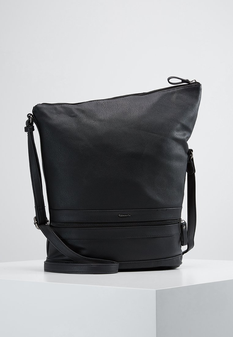Tamaris - SMIRNE HOBO - Across body bag - black