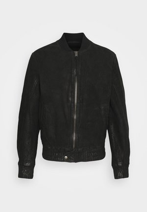 FUDO - Leather jacket - black