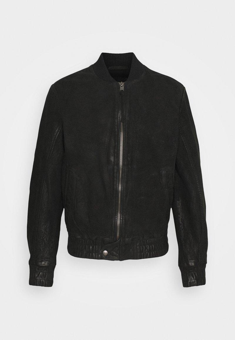 Tigha - FUDO - Leather jacket - black