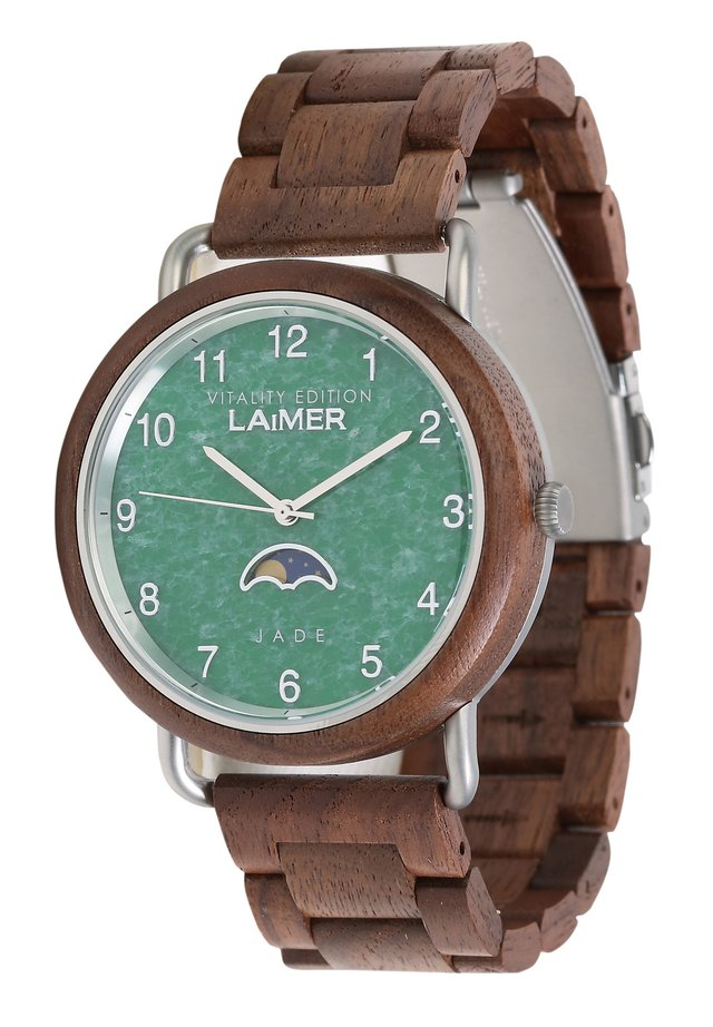 LAIMER QUARZ HOLZUHR - ANALOGE ARMBANDUHR GOETZ - Watch - brown