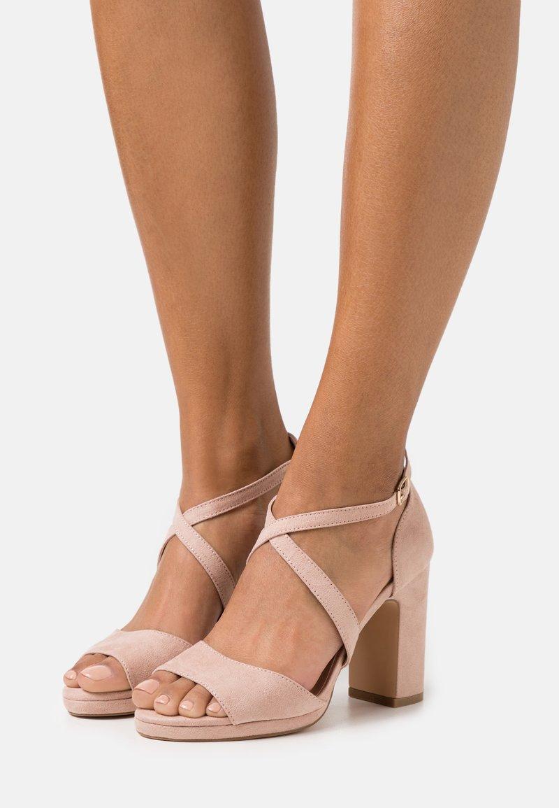 Anna Field - Platform sandals - rose/gold