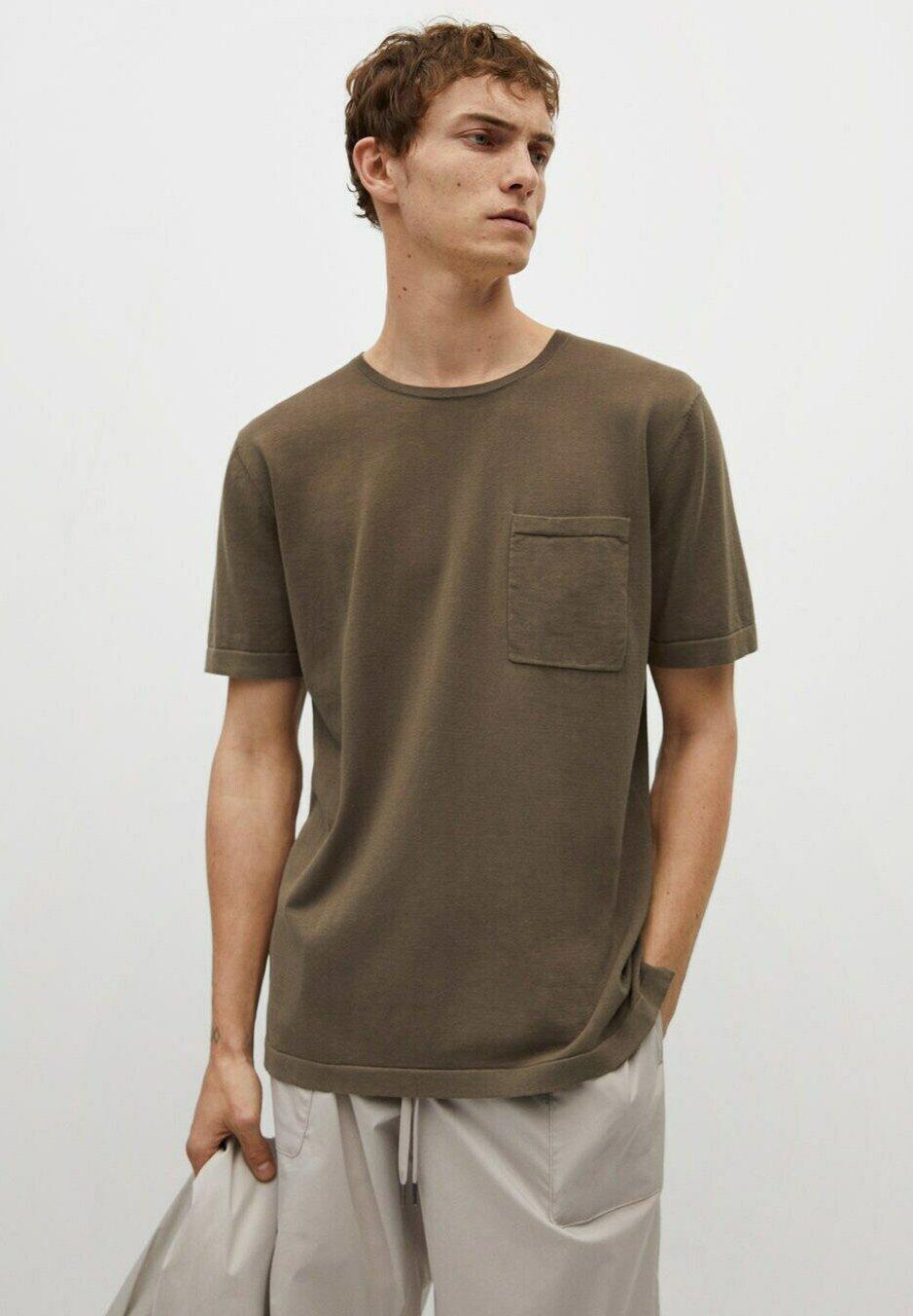 Herrer MED LOMME - T-shirts basic