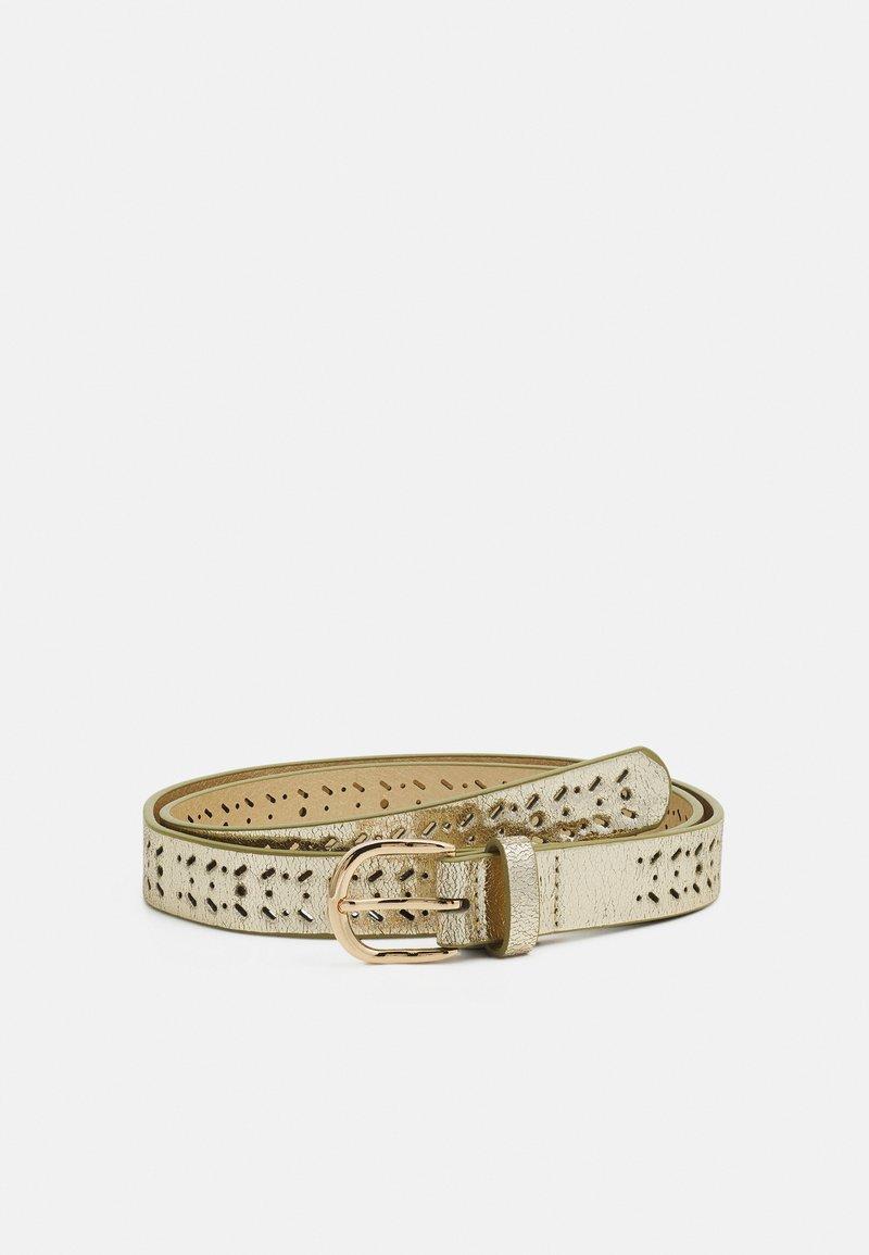 NAF NAF - SLILI - Belt - light gold