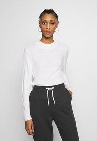 ONLY - ONLROSE  - Jersey de punto - white - 0