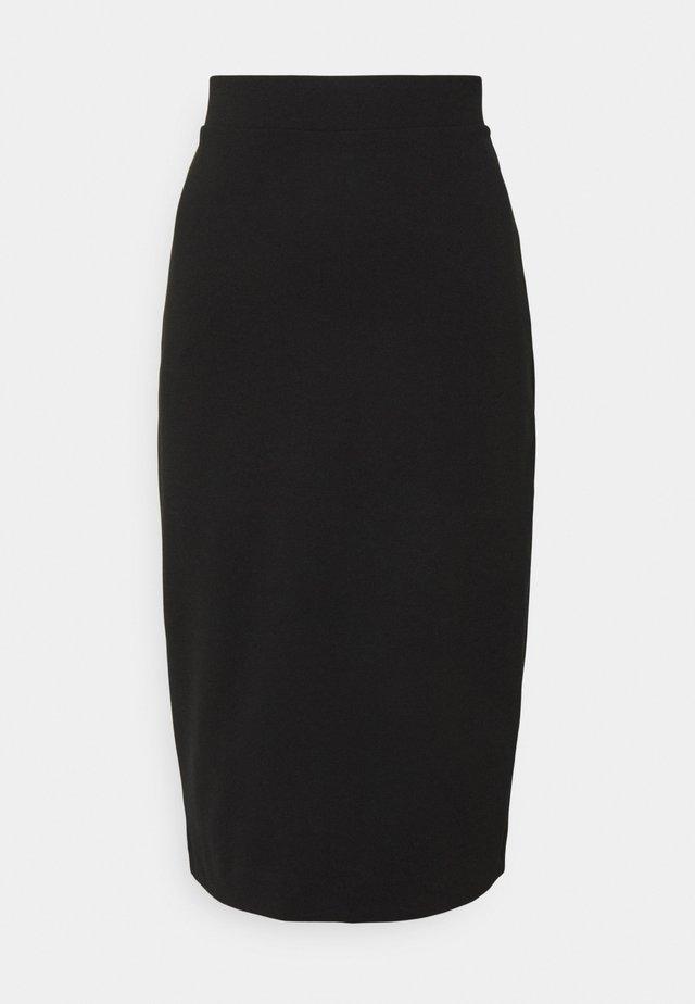 SLFSHELLY PENCIL SKIRT - Blyantskjørt - black