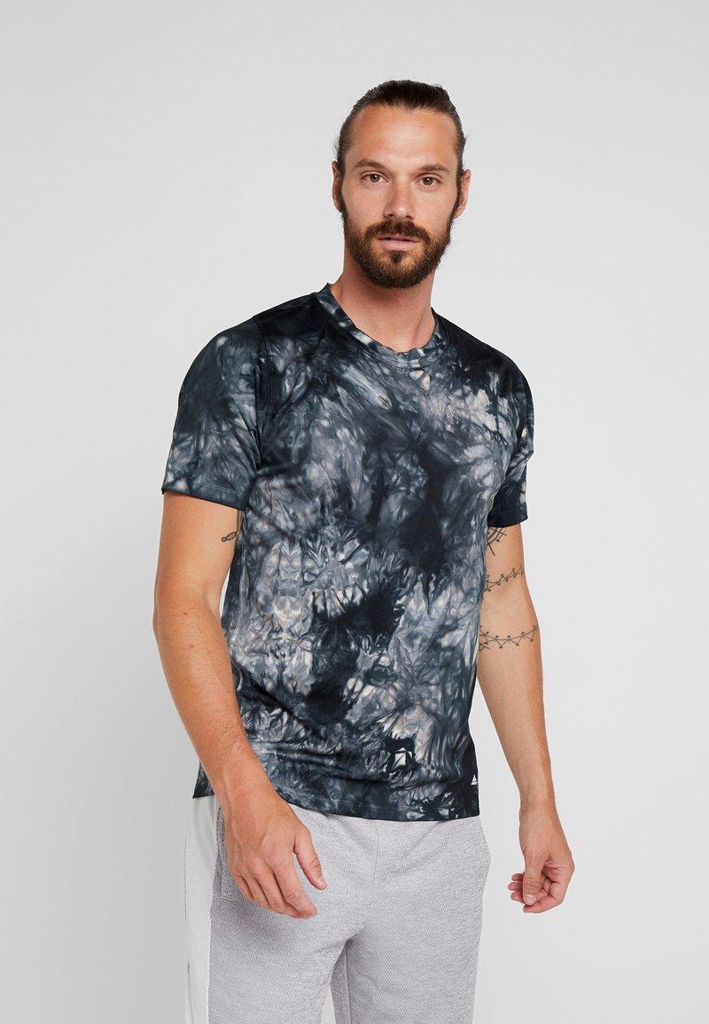 adidas Performance - FREELIFT PARLEY SPORT T-SHIRT - Sports shirt - black