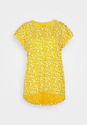 CORE  - T-shirt print - brass yellow